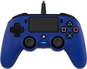 Nacon Wired Compact Controller pro PS4 (ps4hwnaconwccblue) modrý