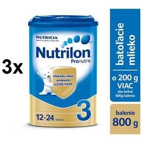 Nutrilon 3 Pronutra, 800g x 3ks
