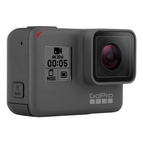 GoPro HERO5 Black černá/šedá Baterie GoPro pro HERO 5 Black, nabíjecí (zdarma)Držák GoPro na prsa (zdarma) + Doprava zdarma