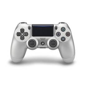 Sony Dual Shock 4 pro PS4 v2 (PS719895657) stříbrný