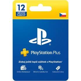 Sony PLAYSTATION PLUS 12 MĚSÍCŮ – DÁRKOVÁ KARTA - pouze pro CZ PS Store (PS719807346)