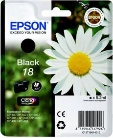 Epson T1801, 175 stran - originální (C13T18014010) černá