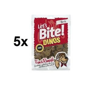 Brit Lets Bite Dinos 5 x 150 g