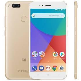 Xiaomi Mi A1 CZ LTE Dual SIM (PH3618) zlatý Software F-Secure SAFE 6 měsíců pro 3 zařízení (zdarma) + Doprava zdarma
