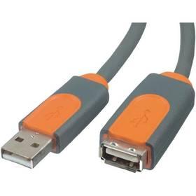 Kabel Belkin USB 2.0 prodlužovací A - A, 4.8m (CU1100cp4.8M) černý/žlutý