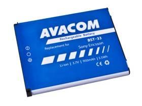 Avacom pro Sony Ericsson K550i, K800, W900i Li-Ion 3,7V 950mAh (náhrada BST-33) (GSSE-W900-S950A)