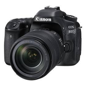 Canon EOS 80D + 18-135 IS USM (1263C041) černý + cashback + Doprava zdarma