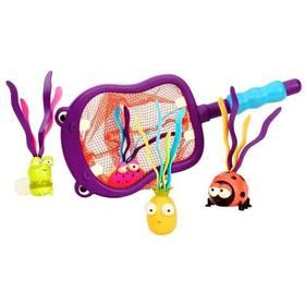 Podběrák s hračkami B-toys Hroch Hubba