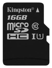 Kingston Canvas Select MicroSDHC 16GB UHS-I U1 (80R/10W) (SDCS/16GBSP)
