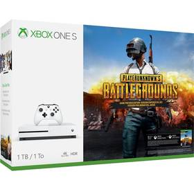 Microsoft Xbox One S 1 TB + PlayerUnknown's Battlegrounds (234-00310)