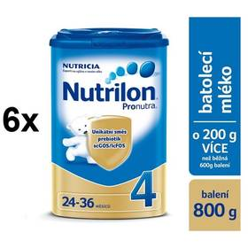 Nutrilon 4 Pronutra, 800g x 6ks + DÁREK + Doprava zdarma