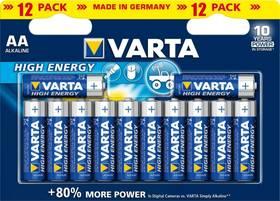 Varta High Energy, AA, 12 ks (417643)