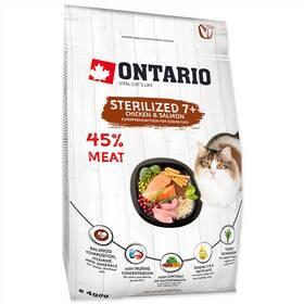 Ontario Cat Sterilised 7+ 0,4kg