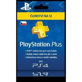 Sony PlayStation Plus Card 365 dní - pouze pro CZ PS Store (PS719807346) + Doprava zdarma