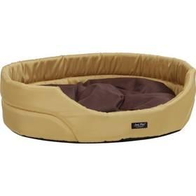 Argi pro psa oválný s polštářem - XL hnědý