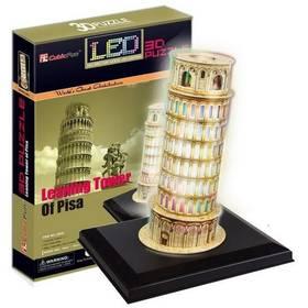 HM Studio 3D Šikmá věž v Pizze LED - 15 dílků