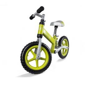 """KinderKraft Runner Bike Evo 12"""" zelené + Reflexní sada 2 SportTeam (pásek, přívěsek, samolepky) - zelené v hodnotě 58 Kč"""