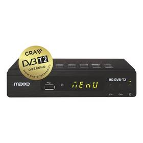 Maxxo T2 HEVC/H.265 černý