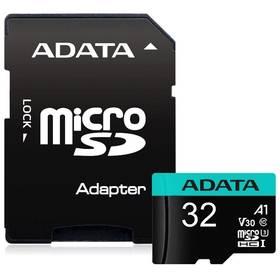 ADATA Premier Pro Micro SDHC 32GB UHS-I V30S (100R/60W) + adaptér (AUSDH32GUI3V30SA1-RA1)