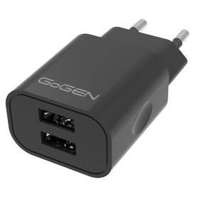 GoGEN ACH 204, 2x USB 2A (ACH204B) čierna