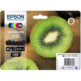 Epson 202 multipack, 250/3x300 stran, CMYK (C13T02E74010)