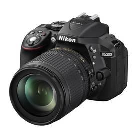 Nikon D5300 + 18-105 AF-S VR černý + Přenosný reproduktor GoGEN BS 113 BM, černý/ocelový v hodnotě 799 Kč + Doprava zdarma