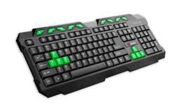 C-Tech GMK-102-G, USB, CZ/SK (GMK-102-G) černá/zelená