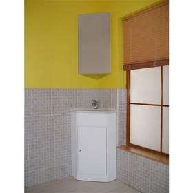 Garden rohová koupelnová skříňka s umyvadlem Domus