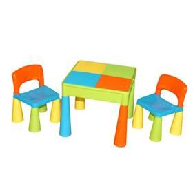 Cosing MAMUT plastový stoleček a 2 židličky multicolor + Doprava zdarma