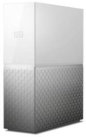 Datové uložiště (NAS) Western Digital My Cloud Home 8TB (WDBVXC0080HWT-EESN) stříbrné/bílé + Doprava zdarma