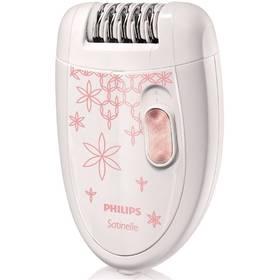 Epilátor Philips Satinelle Soft HP6420/00 biely/ružový