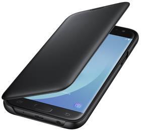 Samsung Wallet Cover pro J7 (2017) (EF-WJ730CBEGWW) černé