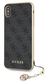 Guess Charms Hard Case 4G pro Apple iPhone Xs Max (GUHCI65GF4GGR) šedý (vrácené zboží 8800354931)