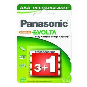 Panasonic R03 EVOLTA, 750NiMH, P03E/4BC + Doprava zdarma
