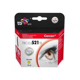 TB Canon CLI-521Y - kompatibilní (TBC-CLI521YE) žltá