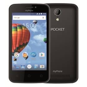 myPhone POCKET (TELMYAPOCKETBK) černý + Doprava zdarma