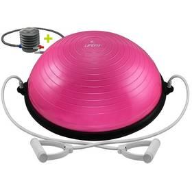 LIFEFIT BALANCE BALL 58cm + pumpa růžová + Doprava zdarma