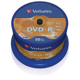 Verbatim DVD-R 4,7GB, 16x, 50-cake (43548)