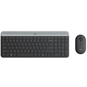 Logitech Wireless Combo MK470 Slim, US (920-009260) šedá