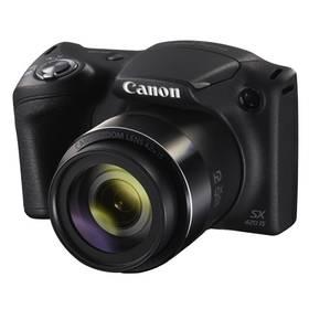 Canon PowerShot SX420 IS černý Paměťová karta Kingston MicroSDHC 16GB UHS-I U1 (45R/10W) + adapter (zdarma) + Doprava zdarma