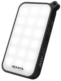 ADATA D8000L 8000mAh, outdoor LED svítilna (AD8000L-5V-CBK) černá + Doprava zdarma