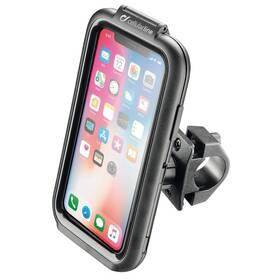 Interphone pro Apple iPhone X/Xs, úchyt na řídítka, voděodolné pouzdro (SMIPHONEX)