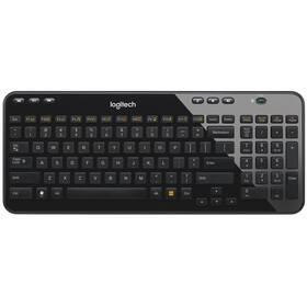 Klávesnice Logitech Wireless Keyboard K360 CZ/SK (920-003090) černá