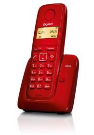 Siemens Gigaset A120 (S30852-H2401-R604) červený