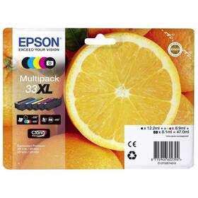 Epson 33XL Multipack, 530/3x650 stran, CMYK (C13T33574011)