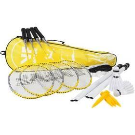 Badminton set VicFun Complete čierny/žltý