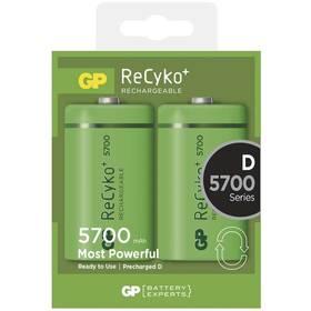 GP ReCyko+ D, HR20, 5700mAh, Ni-MH, krabička 2ks (1033412010) zelená
