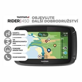 Tomtom Rider 450 World (1GE0.002.21) černá + Doprava zdarma