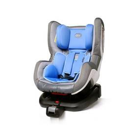 Autosedačka 4Baby NEO-fix 2015, 0-18 kg Blue sivá/modrá