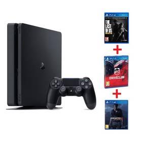 Sony PlayStation 4 SLIM 1TB Gamer pack (PS719806868) černá + Doprava zdarma